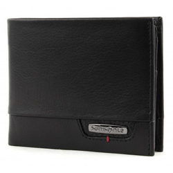 Samsonite PRO-DLX SLG Billfold 4CC+VFL+Coin+2C Wallet | Black