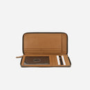 Brando Cooper Genuine Leather Travel Wallet | Tan - iBags.co.za