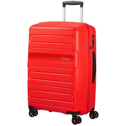 American Tourister Sunside Spinner 68cm Expandable Sunset Red