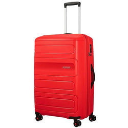 American Tourister Sunside Spinner 77cm Expandable  Sunset Red