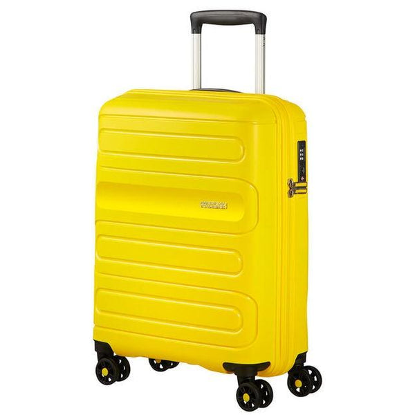 7171091c4 American Tourister Sunside Spinner 55cm - Sunsh.Yellow - iBags.co.za