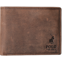 Polo Hamada Leather Small Multi Card & Coin Wallet with RFID