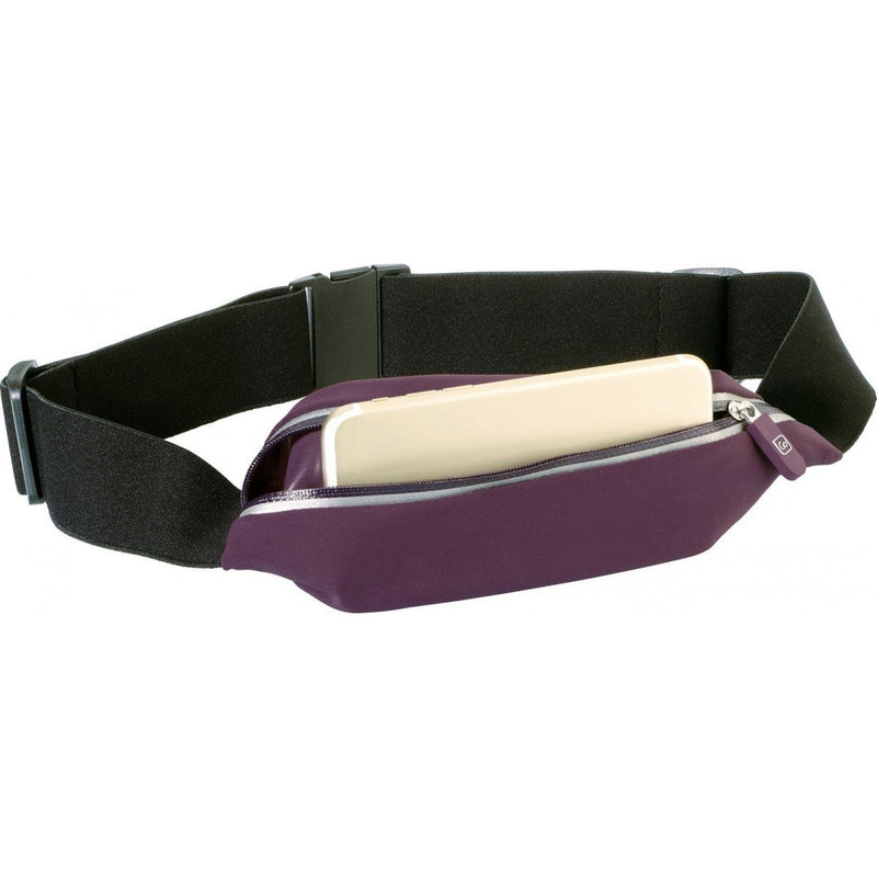 Go Travel Stretchy Belt Pouch | Plum