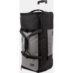 Paklite Limelite Large 2 Wheel Trolley Duffle | Black/Grey
