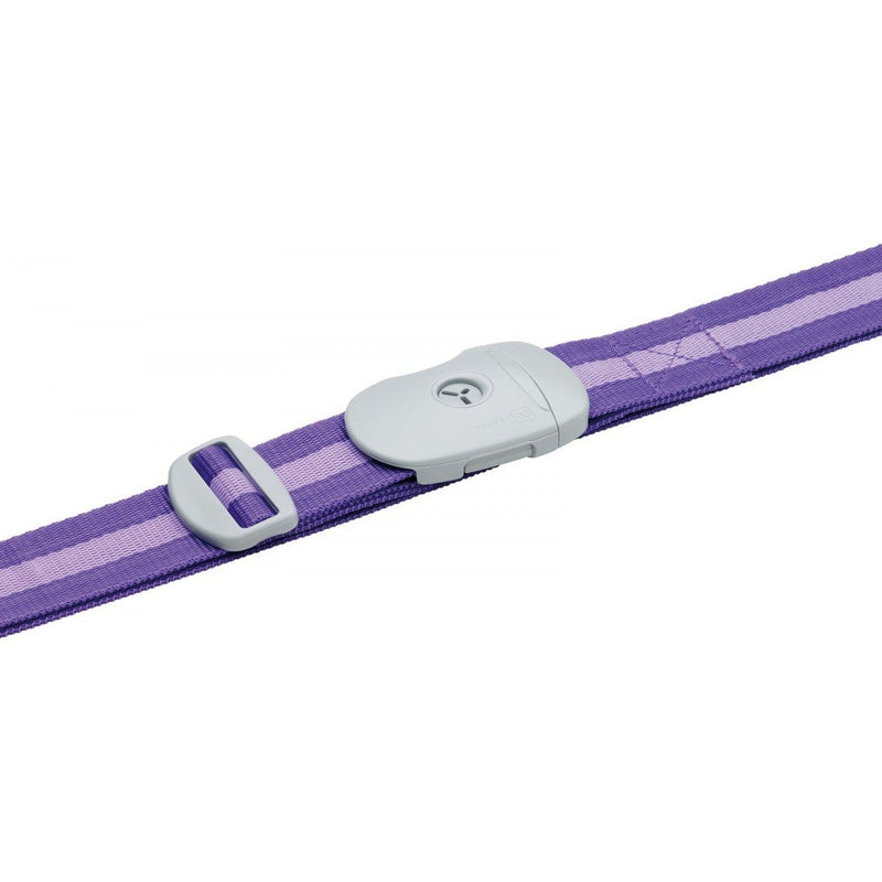Go Travel Luggage Strap With Key | Purple Stripes