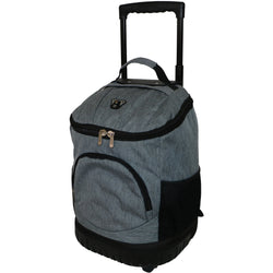 Tosca Round Base Trolley Backpack | Grey