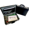 Tosca PVC Executive Attaché Case (Expandable) - With Combo Locks | Black