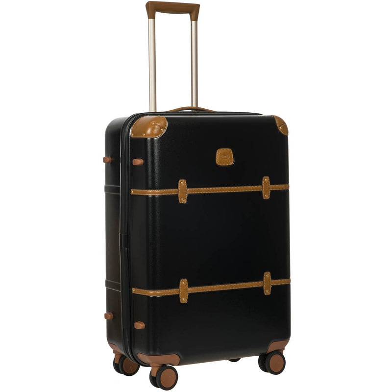 Bric's Bellagio 71cm  Spinner Trunk | Black/Brown - iBags.co.za