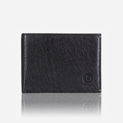 Brando Asher Flip Wallet | Black