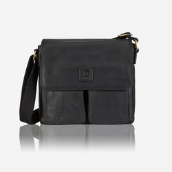 Diesel Raw Edge Crossbody Bag | Black