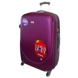 Tosca Orbit ABS 4 Wheeler 65cm Trolley Case | Purple