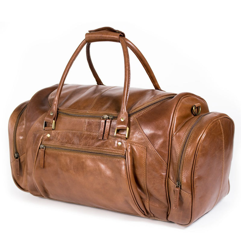 Nuvo Fiji Overnight Leather Duffel Bag