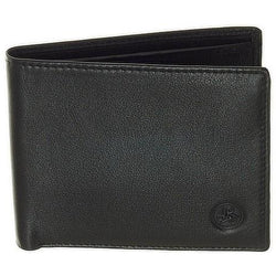 Carraro Seta Men's 12 Card Slots Leather Wallet | Black