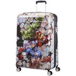 American Tourister Disney Wavebreaker 77cm Large Spinner | Avengers Rock