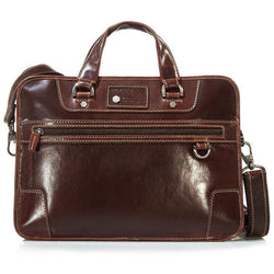 Jekyll & Hide Oxford Leather Business Case | Tobacco