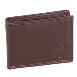 Polo Tuscany Small Multicard Coin Wallet | Brown