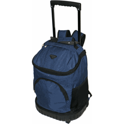 Tosca Round Base Trolley Backpack | Navy