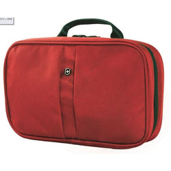 Victorinox Zip Around Travel Kit Wash Bag | Red