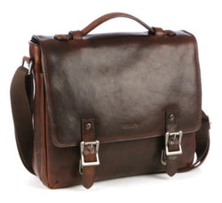 Cellini Woodbridge Large Briefcase | Brown