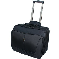 TravelMate Nylon Laptop Trolley Folio (Mobile Office) | Black