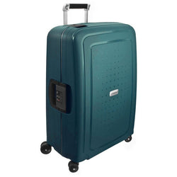Samsonite S'Cure DLX 69cm/25inch Travel Spinner | Metallic Green