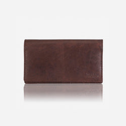 Brando Silviano Raw Edge Purse | Brown