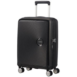 American Tourister Soundbox Spinner Expandable 55cm | Bass Black