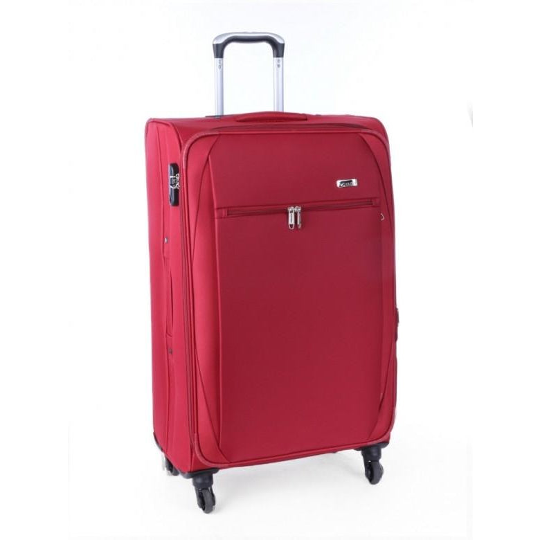 Voyager Echo 760MM 4 Wheel Trolley Case | Red