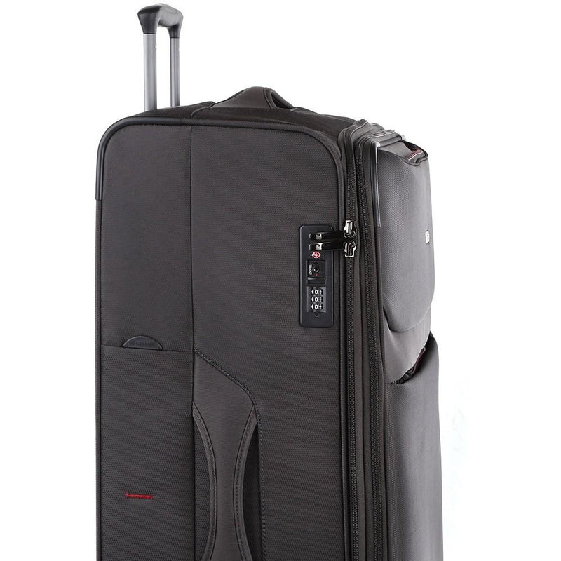 Cellini Magnum 83cm 4 Wheel Trolley Case | Dark Grey (Extra Large)