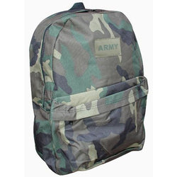 Army Camo Basic Backpack | Camo