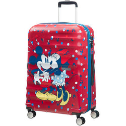 American Tourister Disney Wavebreaker 67cm Medium Spinner | Minnie Loves Mickey