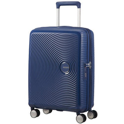 American Tourister Soundbox Spinner Expandable 55cm | Midnight Navy