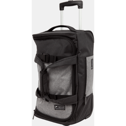 Paklite Limelite Small 2 Wheel Trolley Duffle | Black/Grey