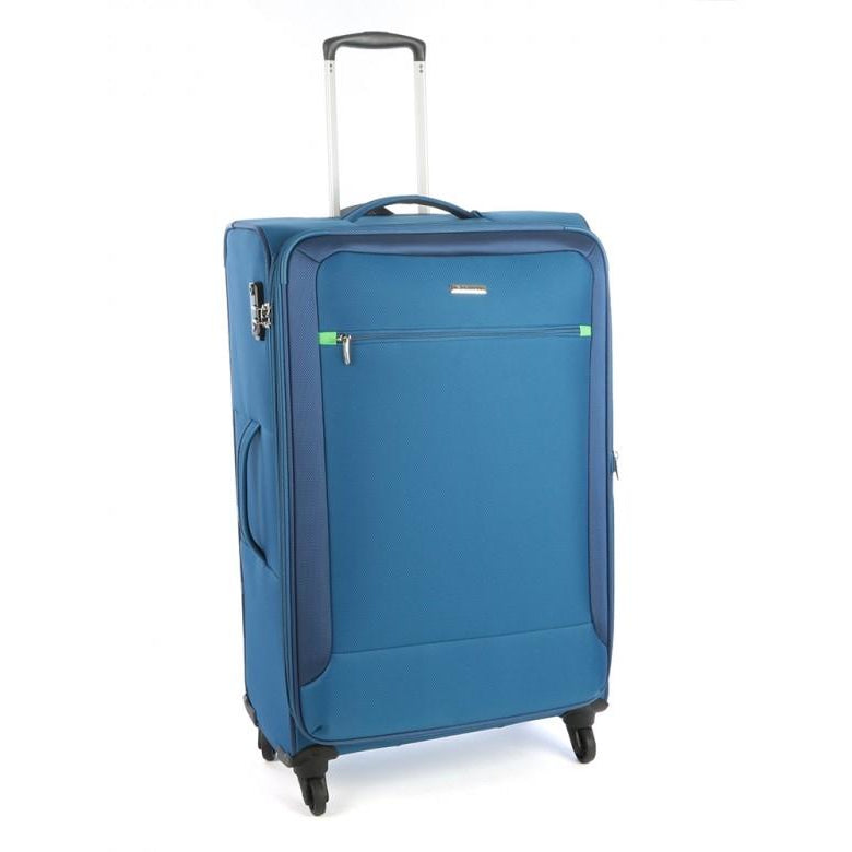 Cellini Carnival 760mm 4 Wheel Trolley Case | Blue