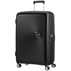 American Tourister Soundbox Spinner Expandable 77cm | Bass Black