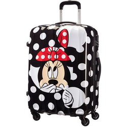 American Tourister Disney Legends Medium Luggage Suitcase | Minnie Dot