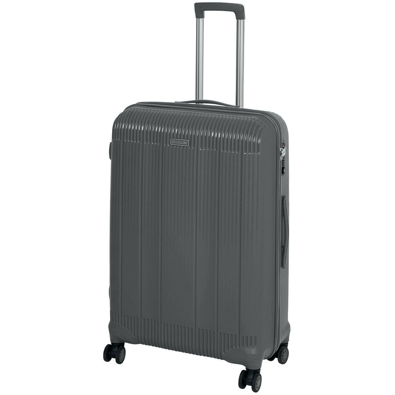Cellini Rapido 74cm Spinner Grey - iBags.co.za