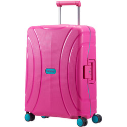 American Tourister 55cm Lock 'n' Roll Cabin Travel Suitcase | Summer Pink