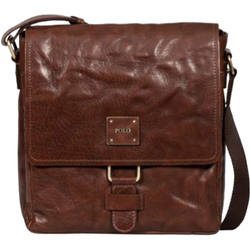 Polo Coyote Leather Crossbody Digital Organiser Brown