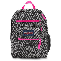 JanSport Big Student Backpack | Grey Wild at Heart