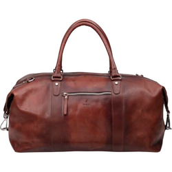 Polo Hudson Leather Weekender Duffel Bag