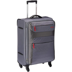 American Tourister Ski 68cm Medium Spinner Expandable | Grey/Red