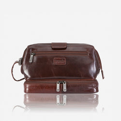 Brando Alpine Toiletry Bag | Brown