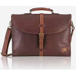Jekyll & Hide Soho Slimline Soho Briefcase | Brown