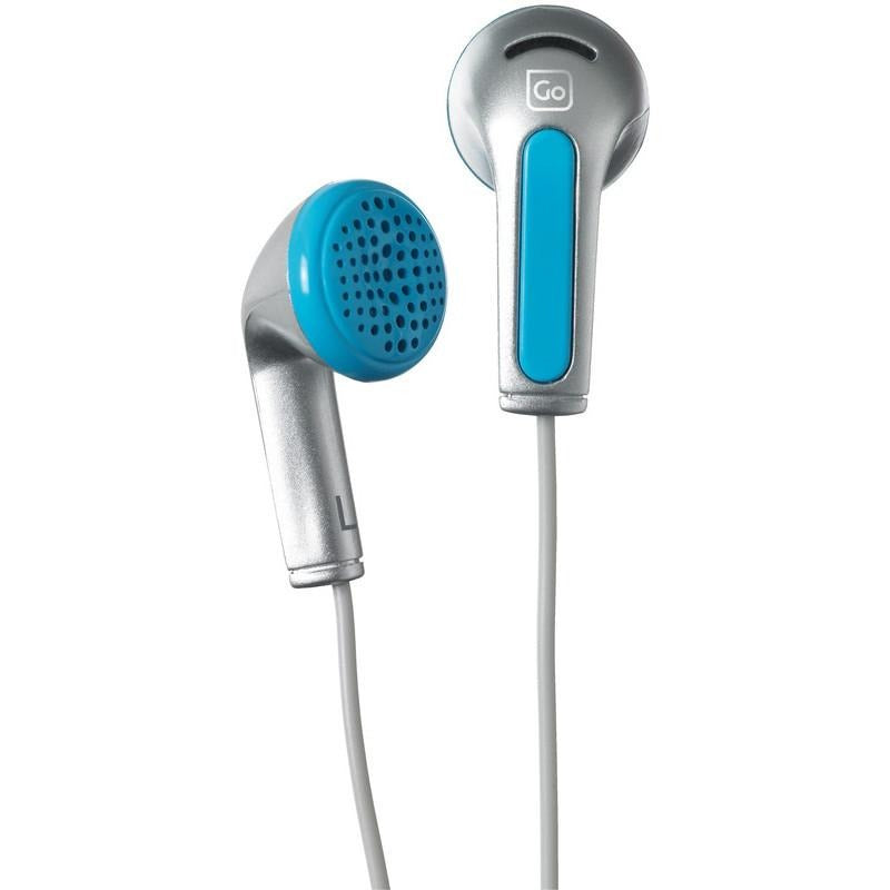 Go Travel Entry Level Travel Earphones Blue