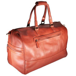Nouveau Small Terence Leather Carry On Duffel Bag | Tan