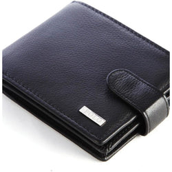 Polo Nappa Tab Wallet | Black