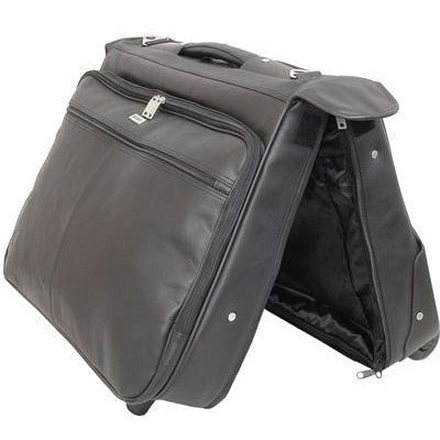Busby Eusrus Garment Bag On Wheels | Black