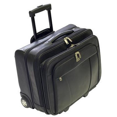 Busby Pheme Laptop Bag On Wheels | Black