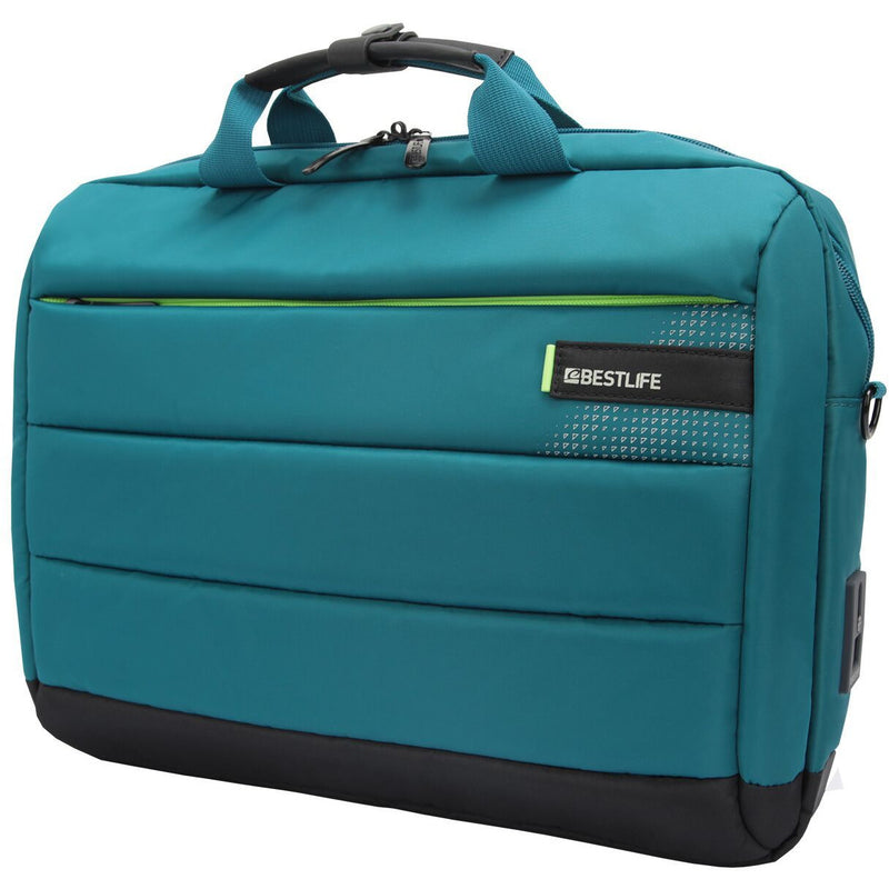 Bestlife C-Plus Laptop Bag Turquoise
